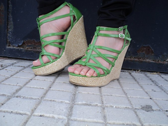 amiclubwear-wedge-green
