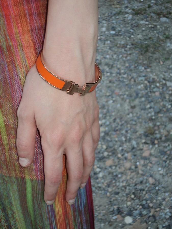 bracciale-h-hermes-arancio