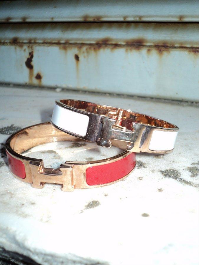 bracciali-h-hermes-rosso-bianco