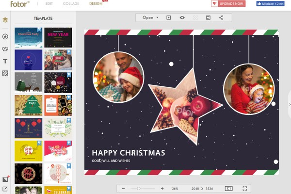 fotor-holiday-greeting-cards-online