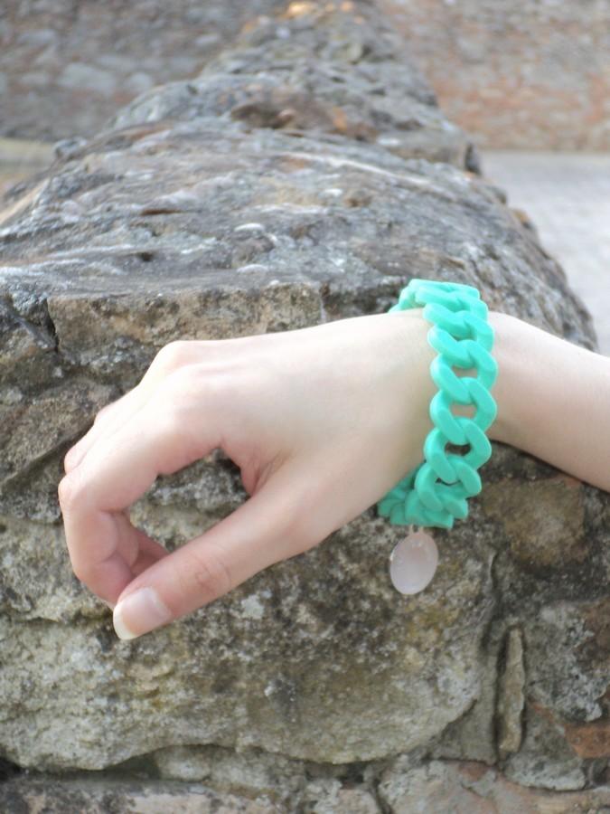 freeyourtime-bracciale-verde-brillante