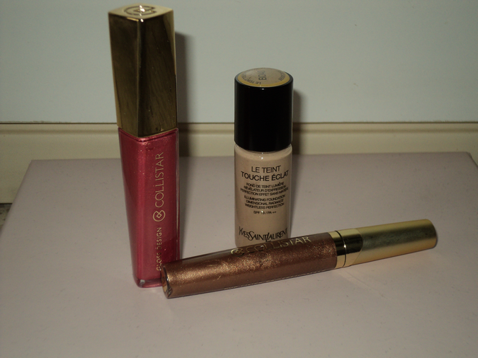 gloss-collistar-eyeliner-fondotinta-touche-eclat-ysl