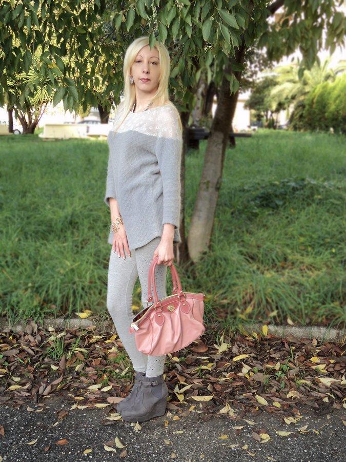 grigio-rosa-look-ruberlab-moda-ecosostenibile
