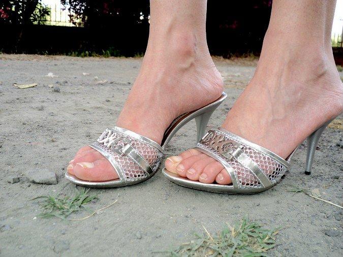 sandali-g&g-argento