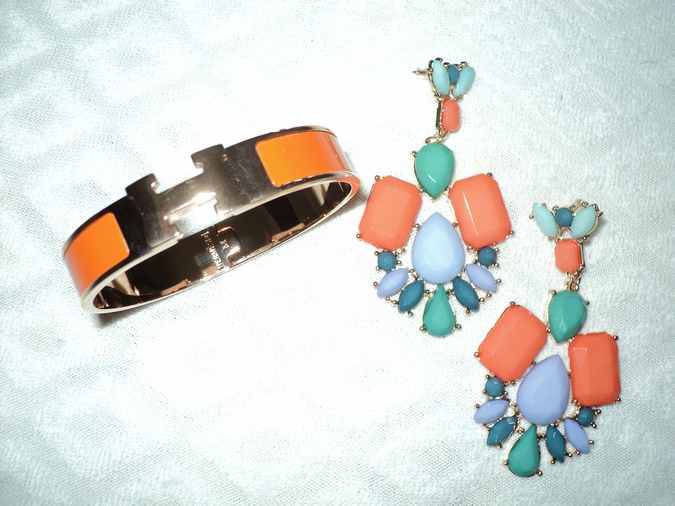 statement-earrings-orange