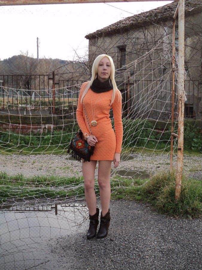 tangerine-bohemien-chic-look