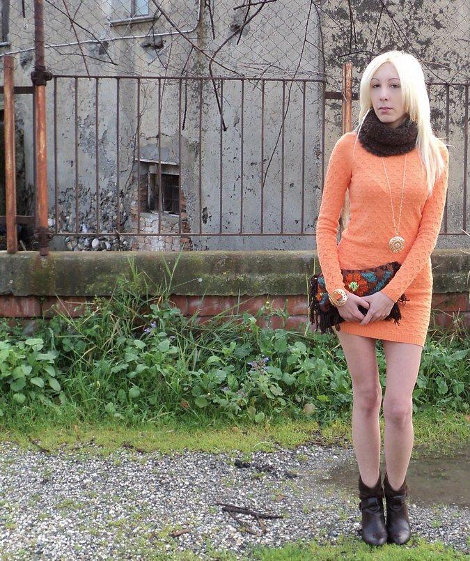 tangerine-boho-chic-look